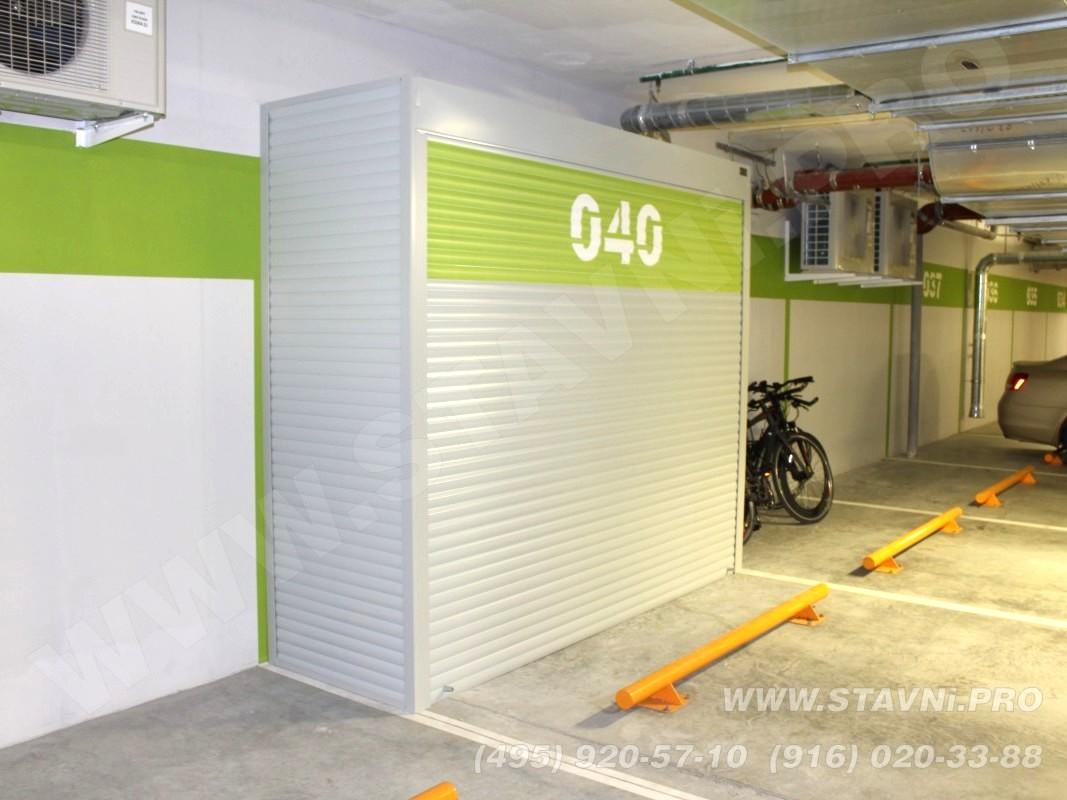 Металлические шкафы для гаража (паркинга)