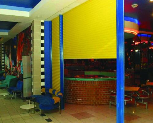 Разноцветные Роллеты в торговый центр