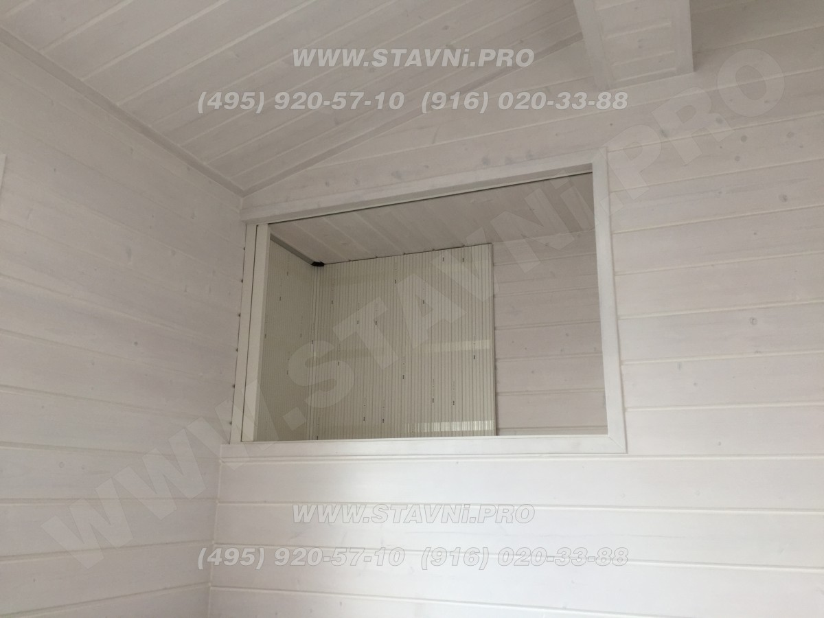 Мебельная жалюзи Рехау в к качестве дверцы ниши