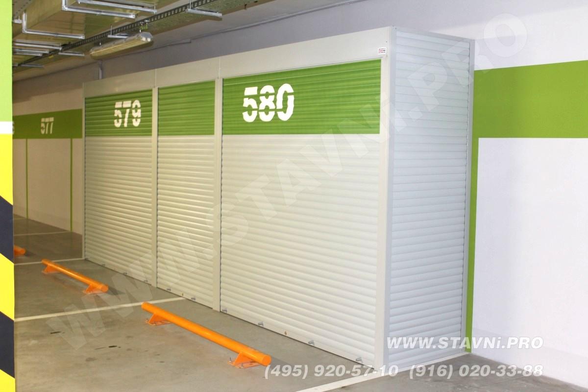 Шкаф на парковке в ЖК Садовые кварталы мм-580