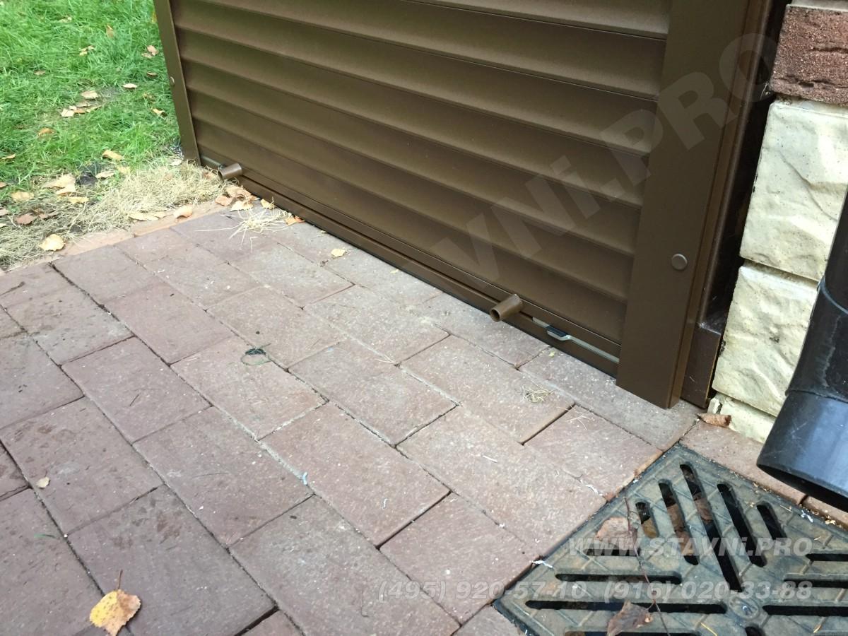 двери рольставни для металлического стеллажа