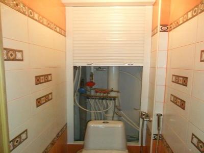 Рольставни для туалета и ванной комнаты с установкой в Москве.
