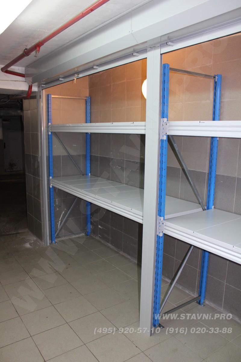 Внутреннее пространство роллетного шкафа