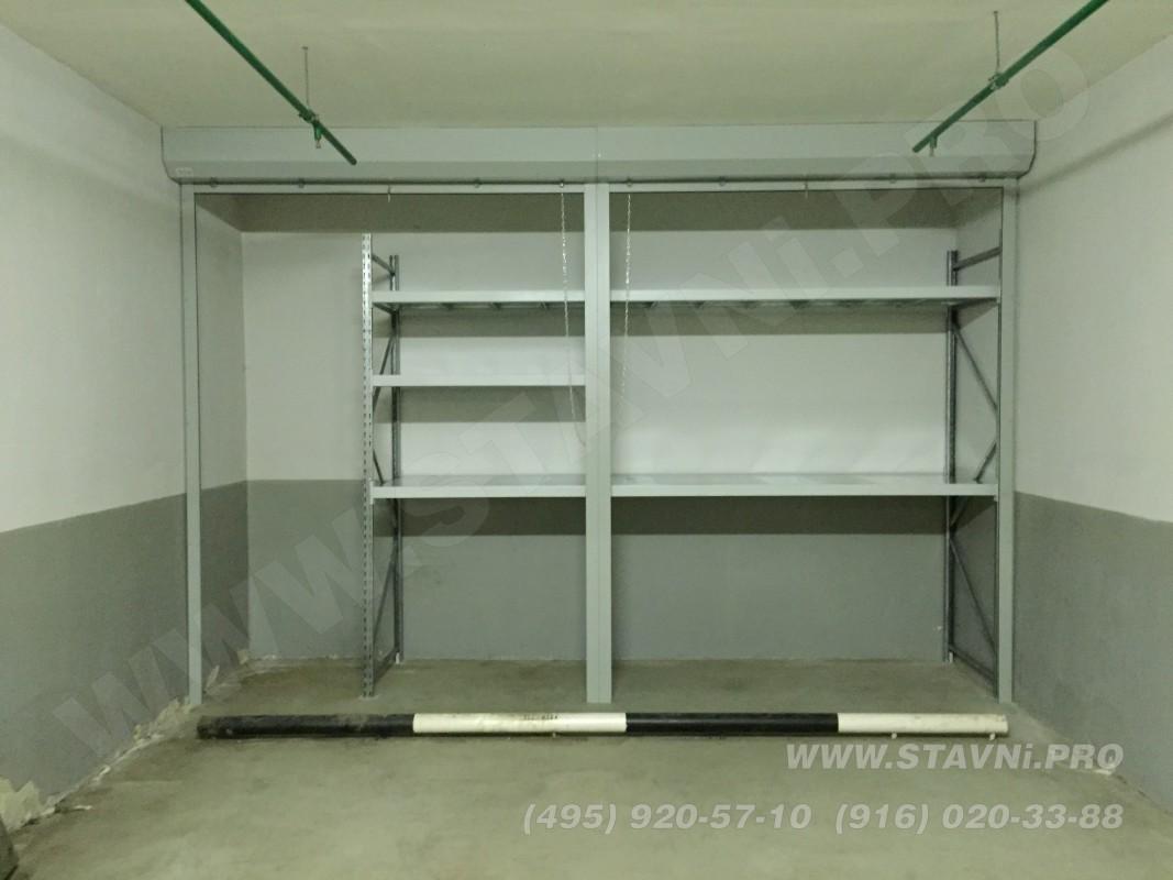 Роллетный шкаф с вентиляционным профилем