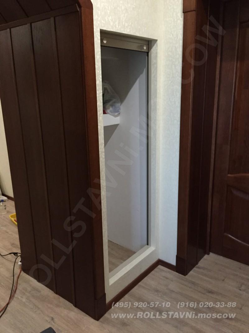 Роллетная дверь кладовки в квартире на ул. Генерала Ермолова