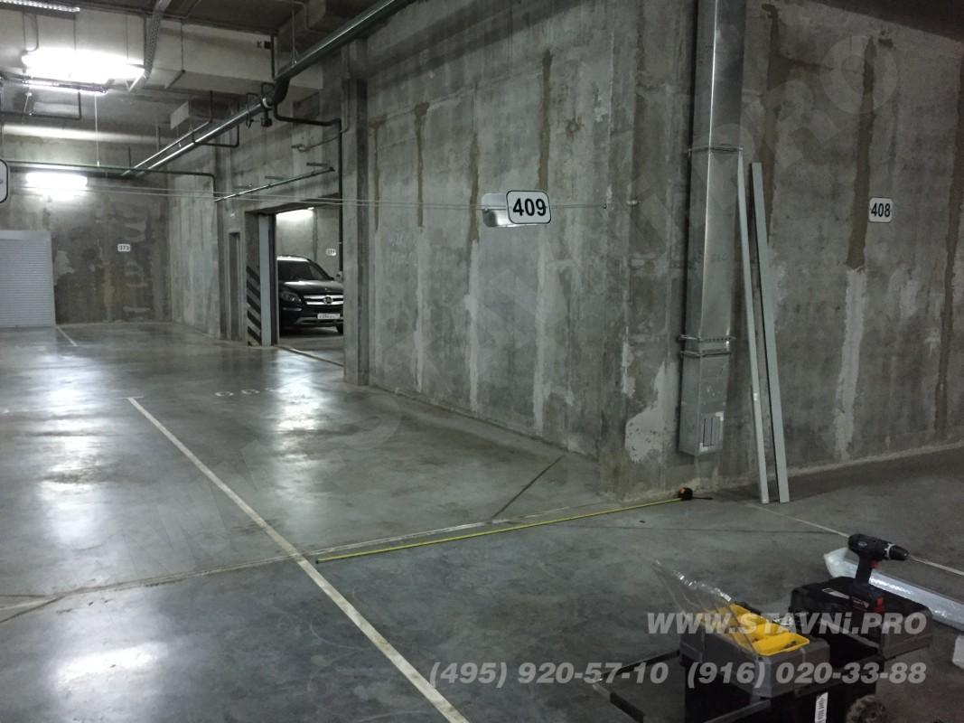 площадка для монтажа роллетного шкафа