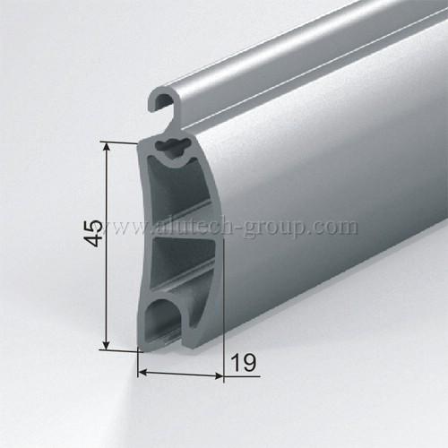 Усиливающий профиль AEG45/S роллетной решетки