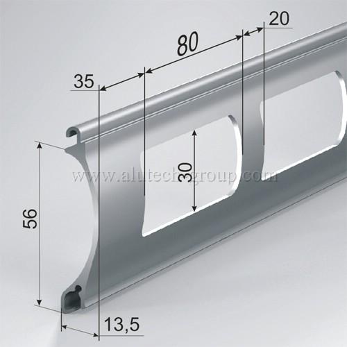 Профиль AEG56 роллетной решетки