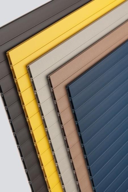 Серия мебельных жалюзи Rauvolet Color-Line однотонные декоры