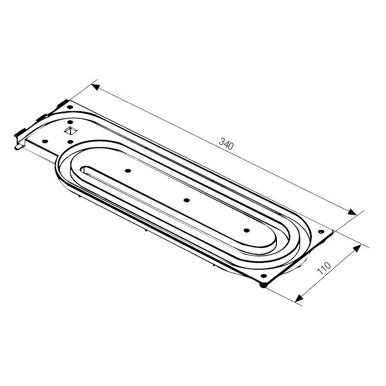 Пластиковая улитка системы frame