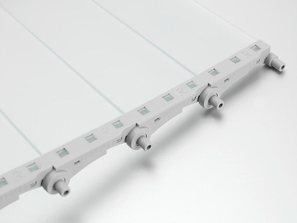 Vetro-line матовое полупрозрачное стекло rauvalet rehau