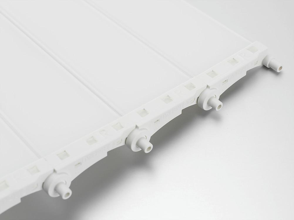 Vetro-line белое стекло rauvalet rehau