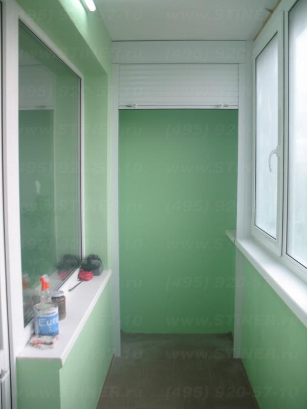 установленная рольставния на балконе квартиы в нахаино