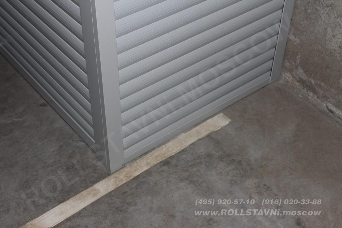 стенки роллетного шкафа из роллетного профиля