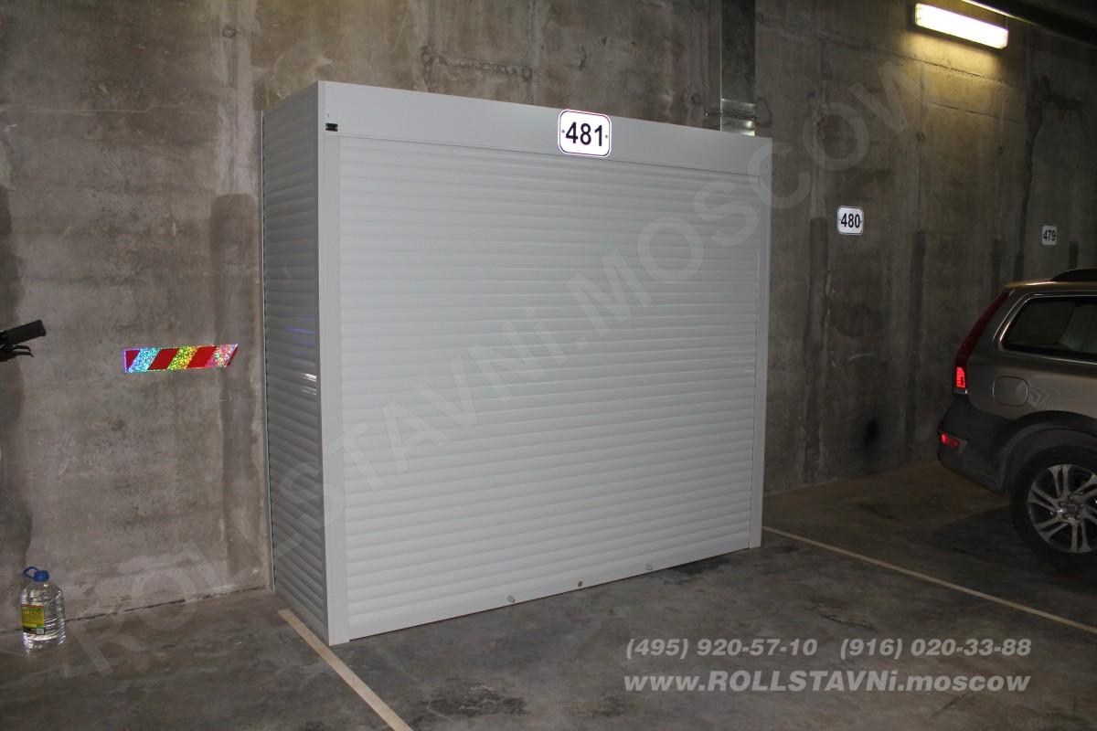 шкаф с полками паркинге для хранения авто шин