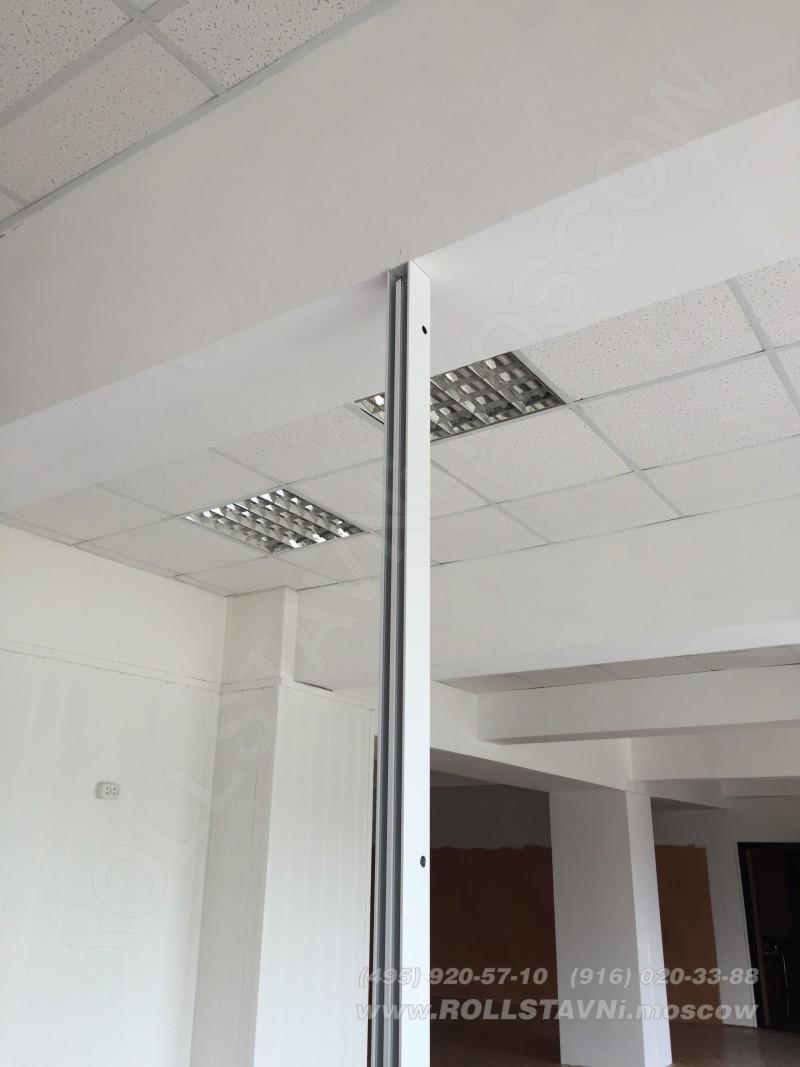 скрытый крепеж вертикальной стойки соединения рольтсавней