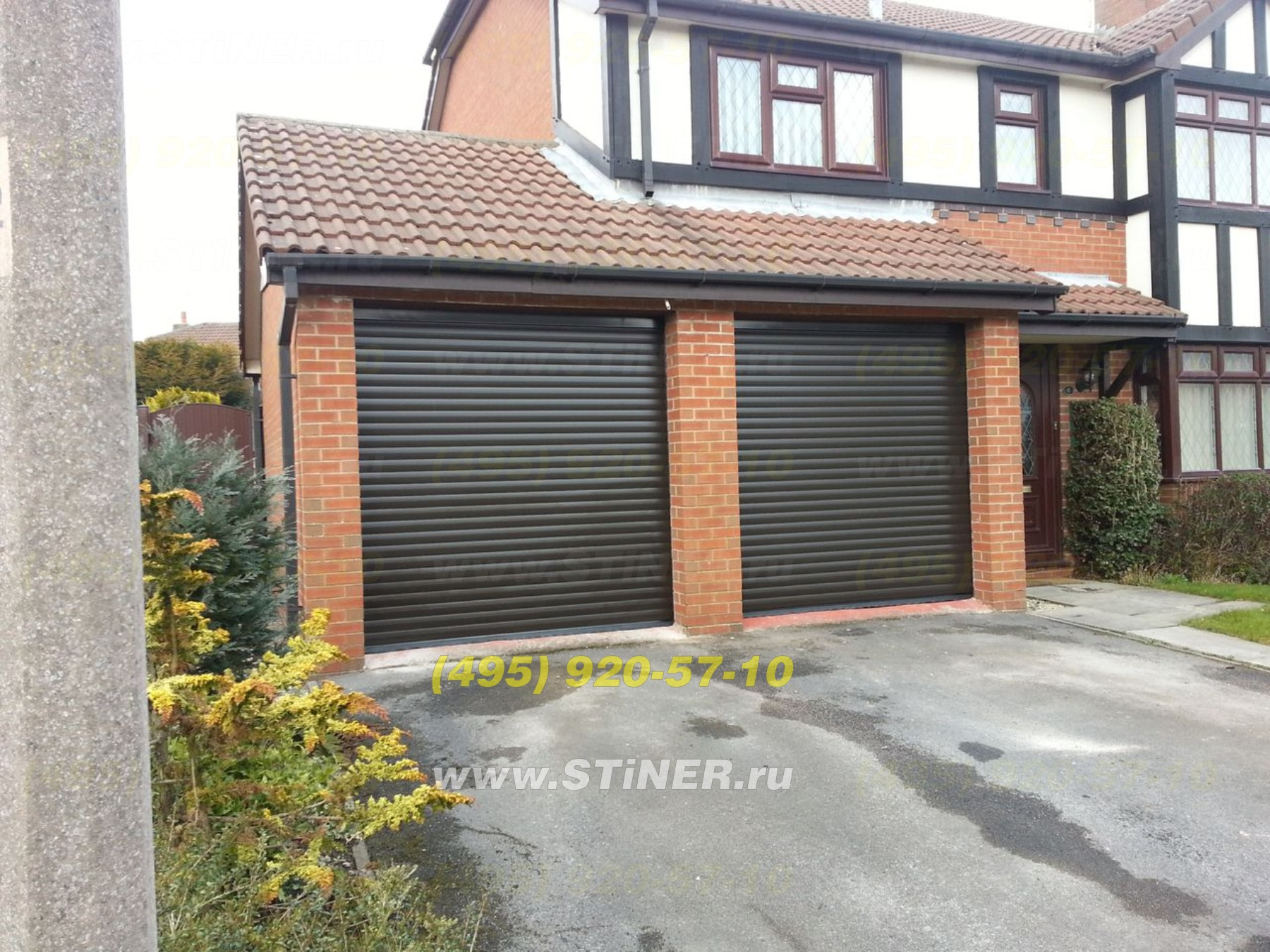 Automatic rollshutters for gates witn installation and with remote control in Moscow region