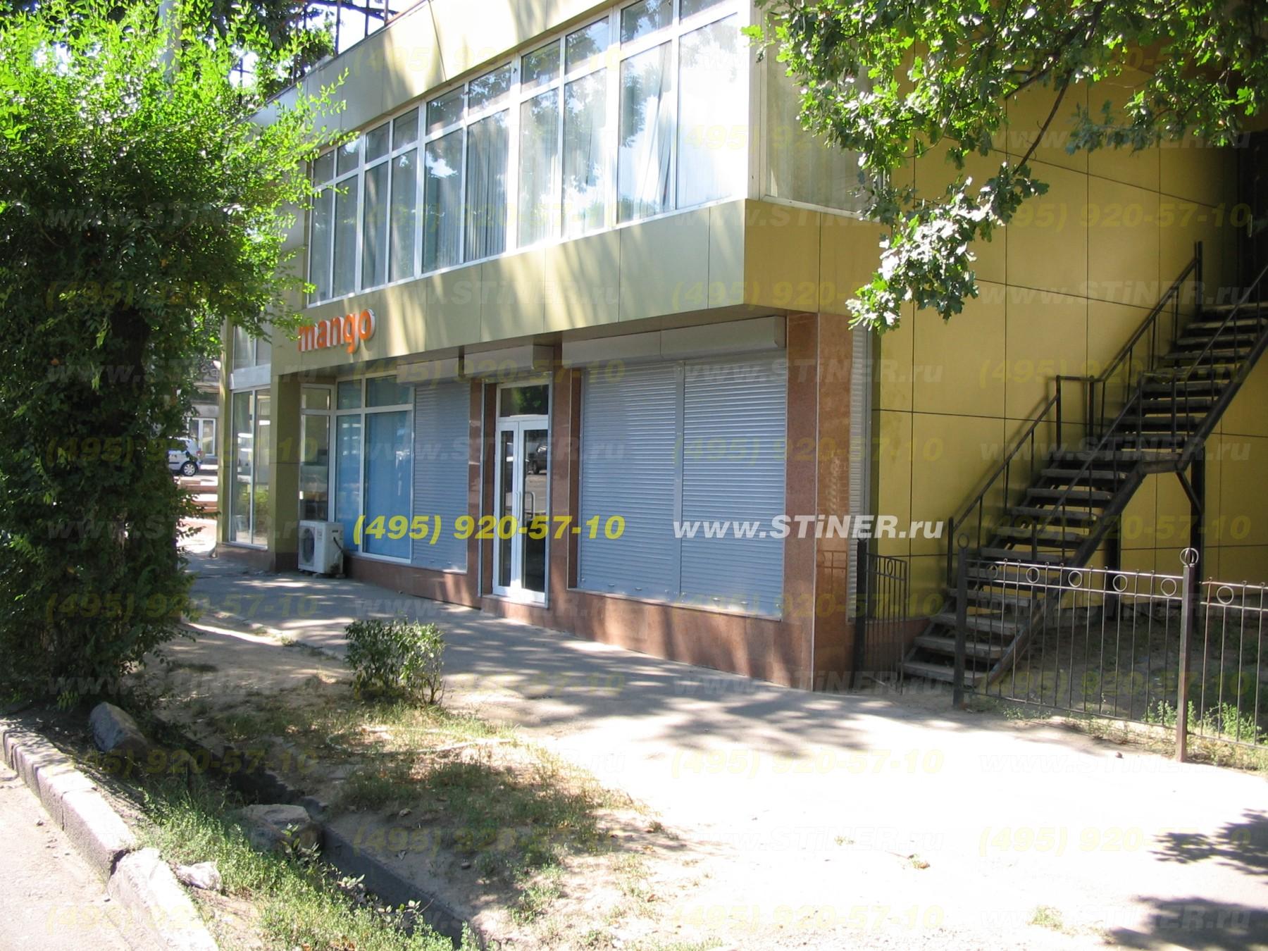 Ролставни для окон магазина и входной группы в Москве и области