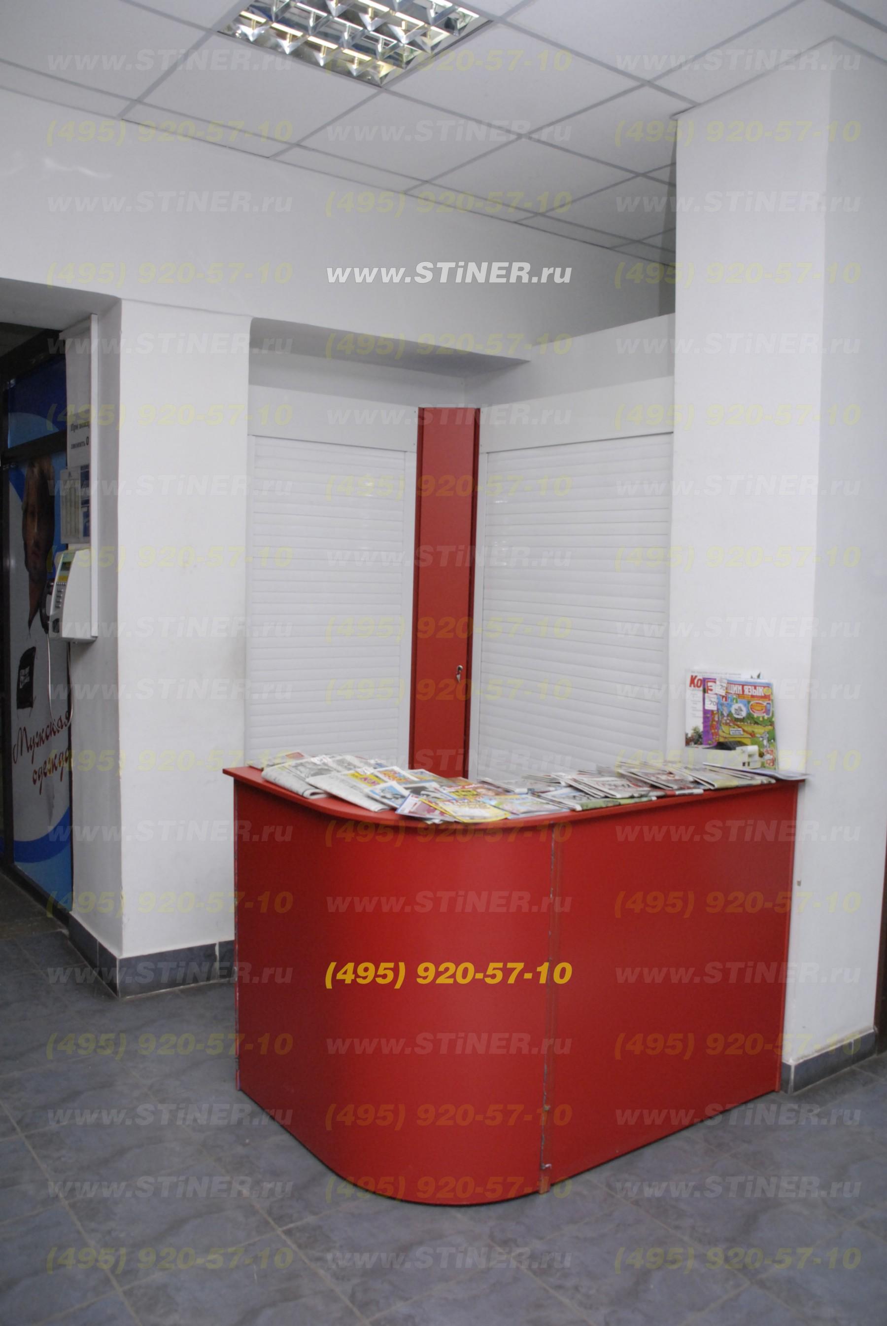 Мебельные роллеты эконом серии. Рольставни для торгового оборудования с установкой в Москве и Московской области, мебельные роллеты эконом серии