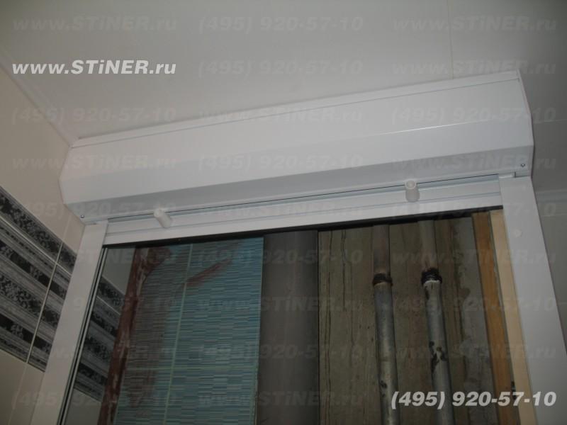короб накладной монтаж в туалете красногорского района