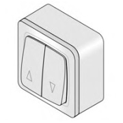 Коробка KU/B для наружного монтажа выключателя KU/1 (Alutech)