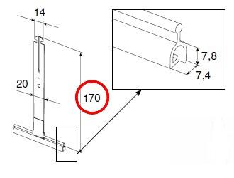 пружина тяговая alutech-ss1701