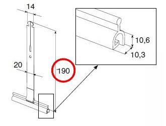 пружина тяговая alutech-ss1901