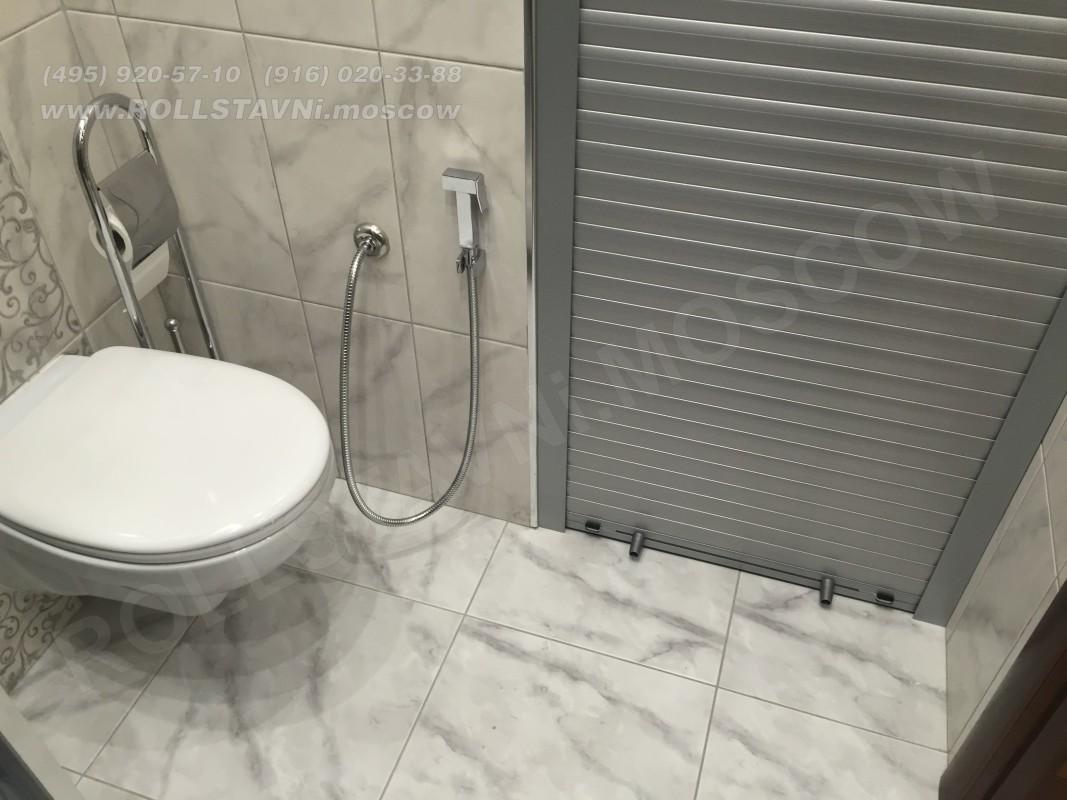 Открытая сантехническая рольставня с магнитной защелкой