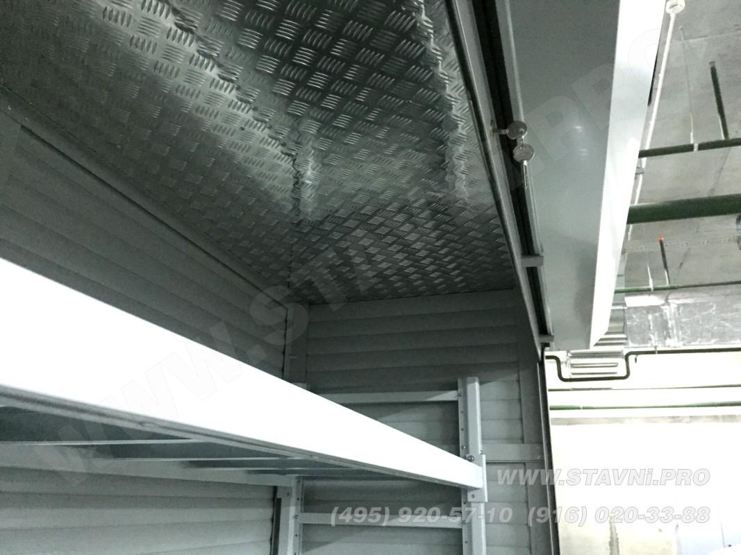 алюминиевая крышка ролетного шкафа