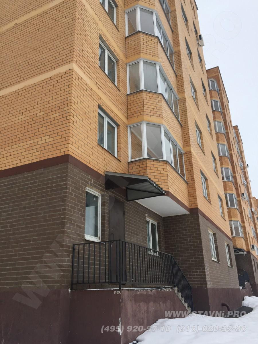 Рольставни будут установлены на втором этаже