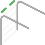 стандартный тип монтажа секционных ворот