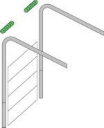 высокий тип монтажа гаражных ворот серии классик