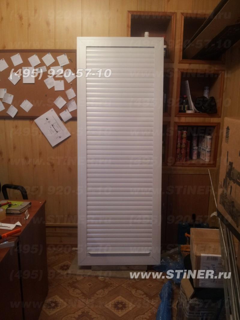 закрытая роллета для встроенного шкафа с монтажом в московской области
