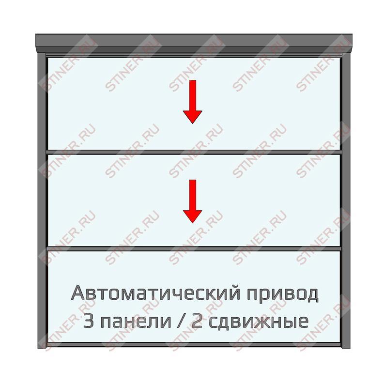Окна гильотинного типа для веранды
