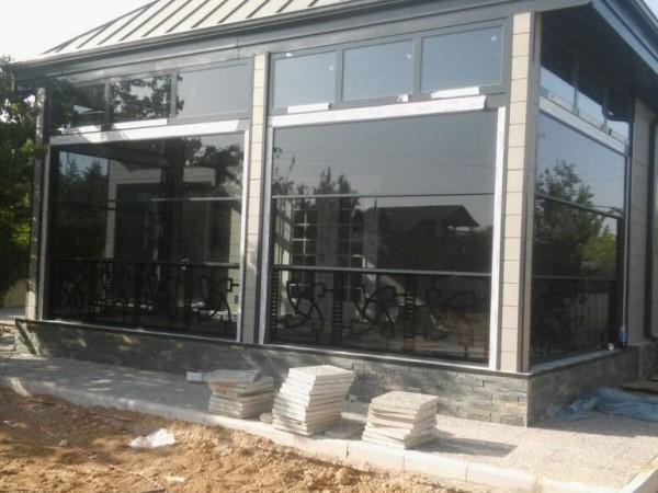 Окна слайдеры для остекления веранды