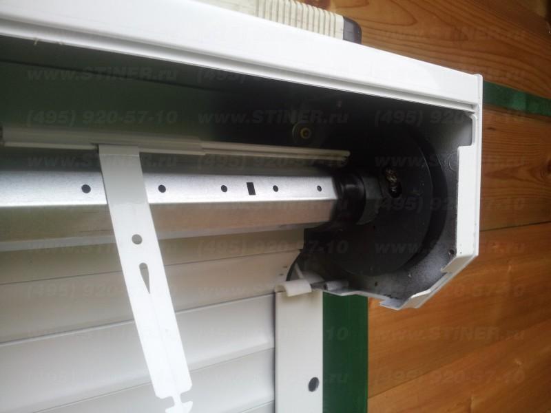 заправка рольставни в короб и установка пружины тяговой